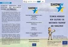 TECHNICAL WORKSHOP NEW SOLUTIONS FOR WASTEWATER TREATMENT AND MANAGEMENT