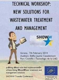 "Technical workshop ""New solutions for wastewater treatment and management"""