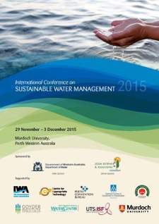 International Conference on Sustainable Water Management 2015