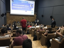 "The workshop ""Membranes for water treatment and reuse"" held at UdG Scientifical and Technological Park brings together more than 70 attendants"
