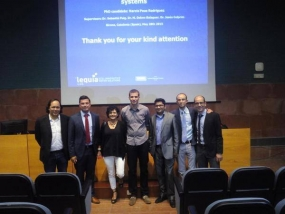 Narcís Pous, UdG 2015 Extraordinary Doctorate Prize in Water Science and Technology