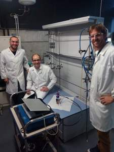LEQUIA researchers prove for the first time the biolectrochemical production of butyric acid from CO2 as a sole carbon source
