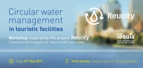 Circular water management in touristic facilities